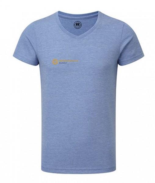 T-Shirt mit V-Ausschnitt für Kinder